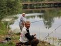 Ветераны на рыбалке