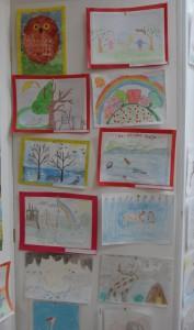 Выставка детских рисунков «В объятиях природы»