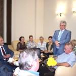 Выступление директора НВ АЭС В. Поварова перед Ветеранами