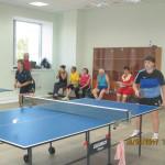 Cоревнования по настольному теннису среди ветеранов БАЭС
