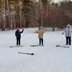 Первое занятие по «Скандинавской ходьбе»