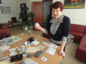 Приглашаем на очередной мастер-класс  Быстровой Надежды Петровны